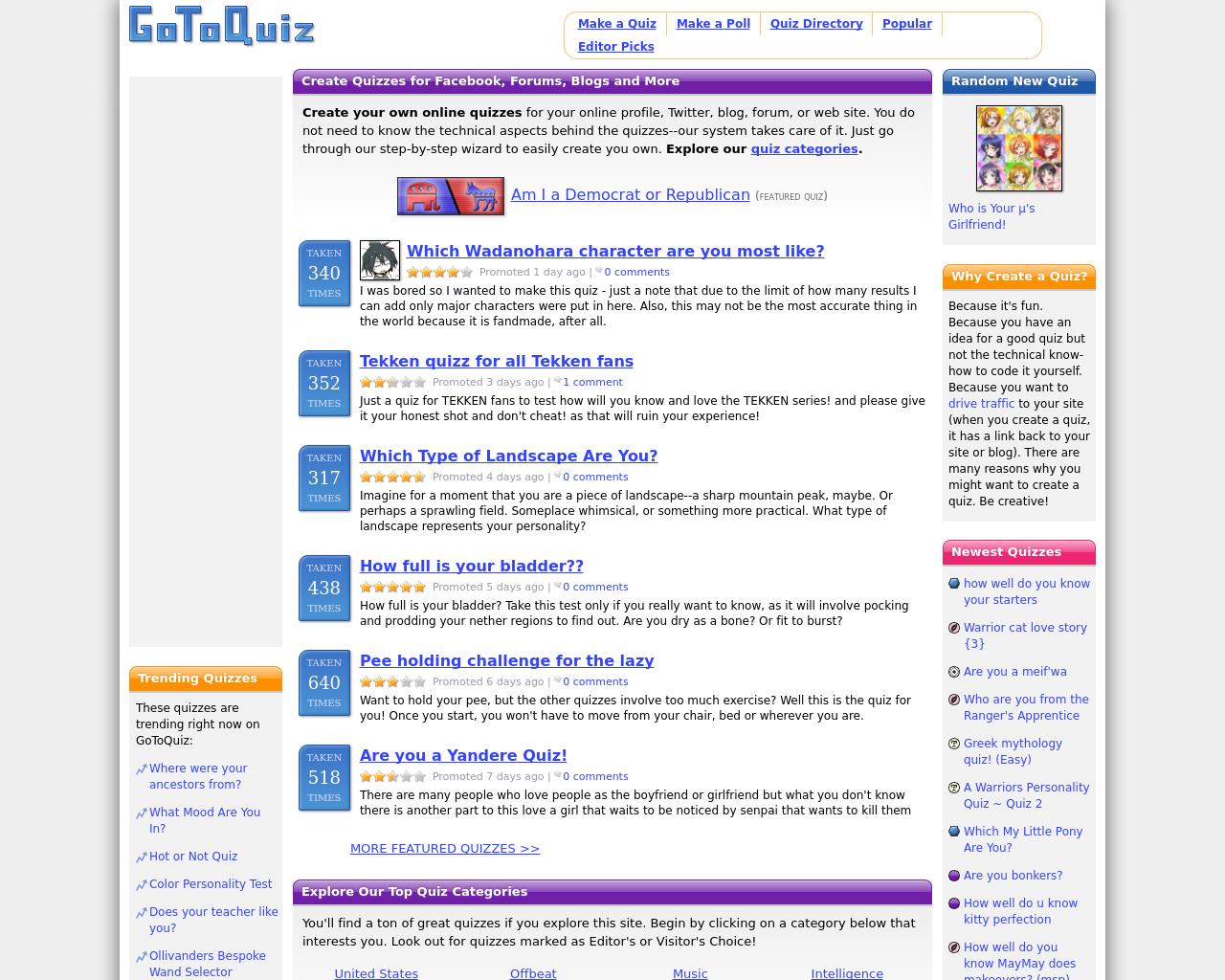 GoToQuiz.com-Advertising-Reviews-Pricing
