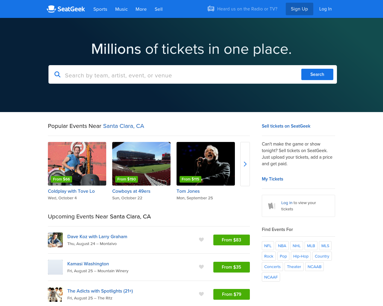 SeatGeek-Advertising-Reviews-Pricing