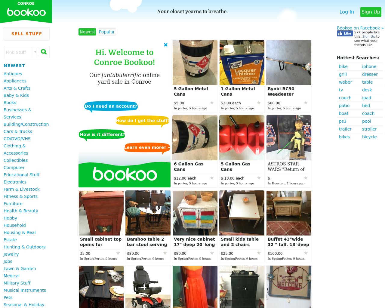 CONROE-Bookoo-Advertising-Reviews-Pricing