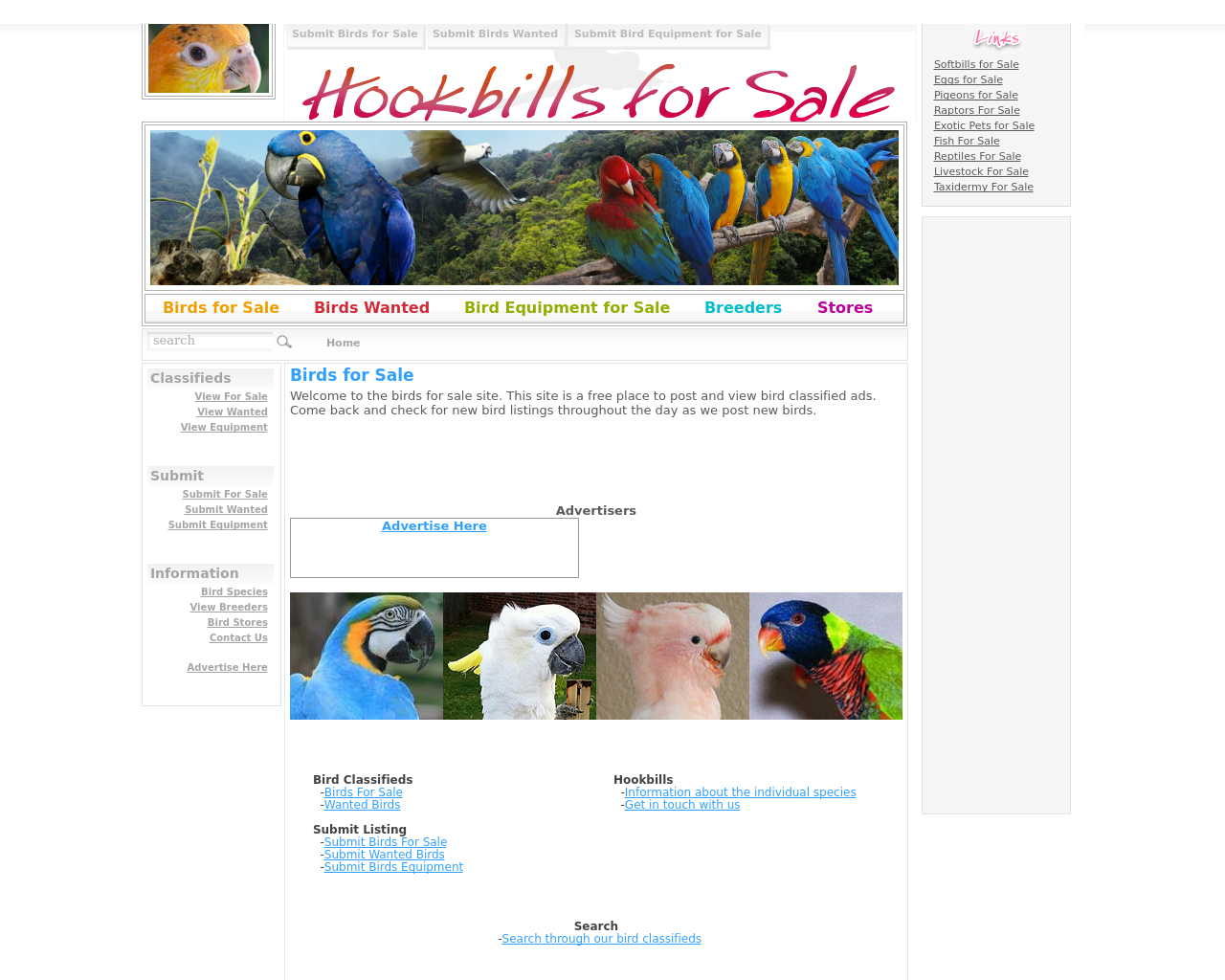 Hookbills-For-Sale-Advertising-Reviews-Pricing