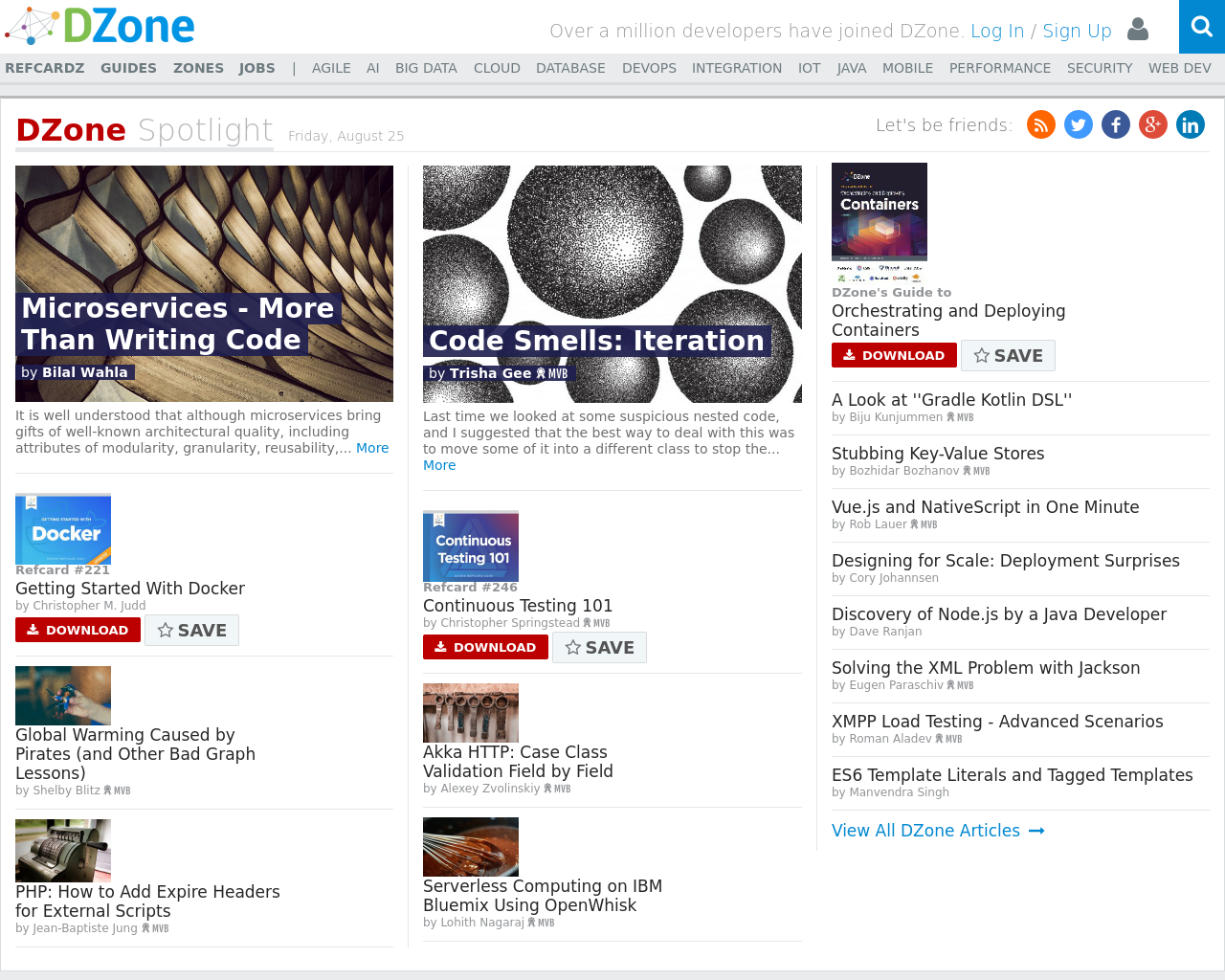 DZone-Advertising-Reviews-Pricing