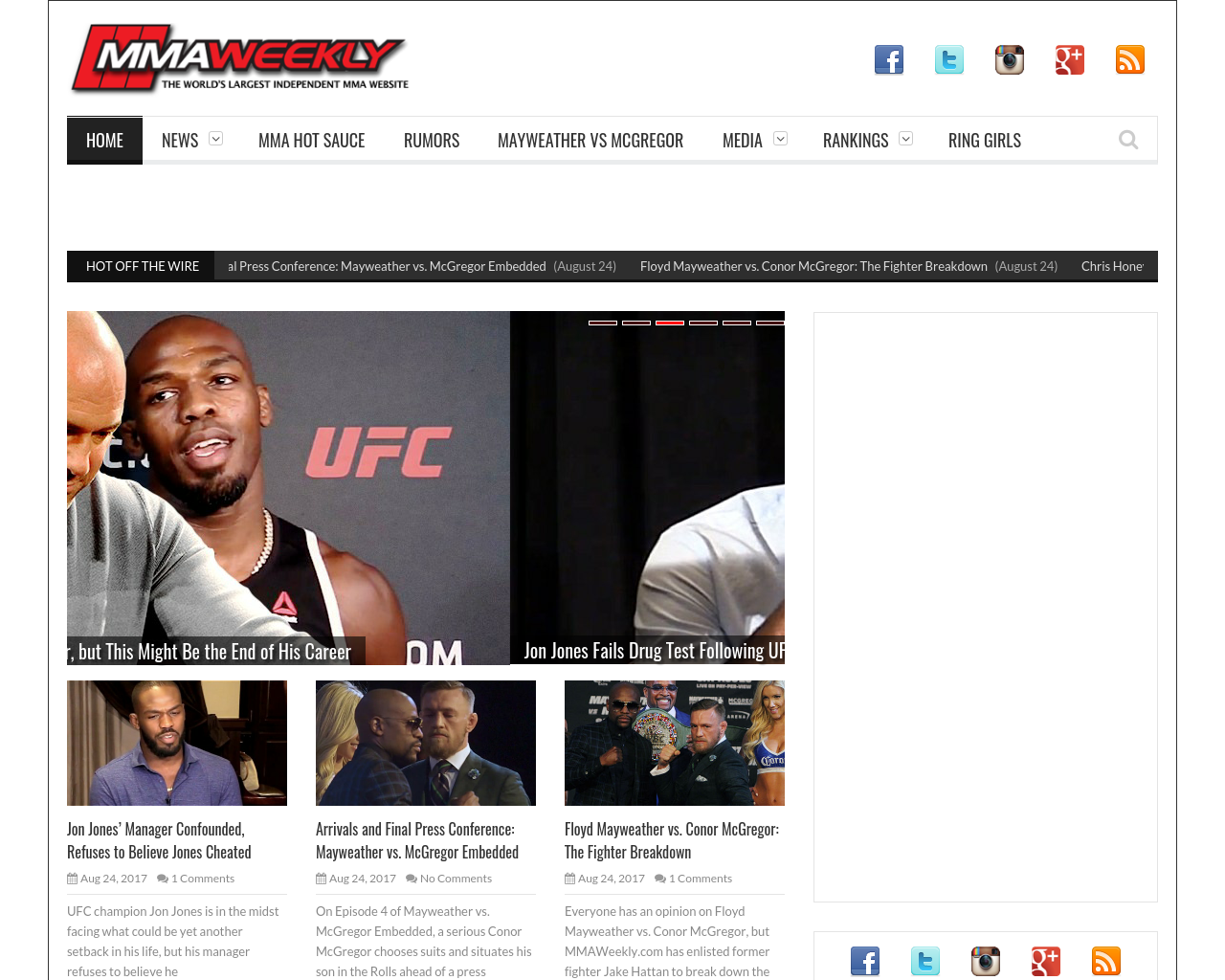 MMAWeekly.com-Advertising-Reviews-Pricing