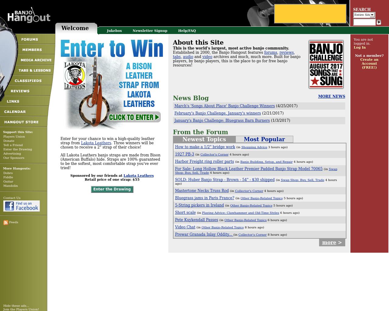 Banjo-Hangout-Advertising-Reviews-Pricing
