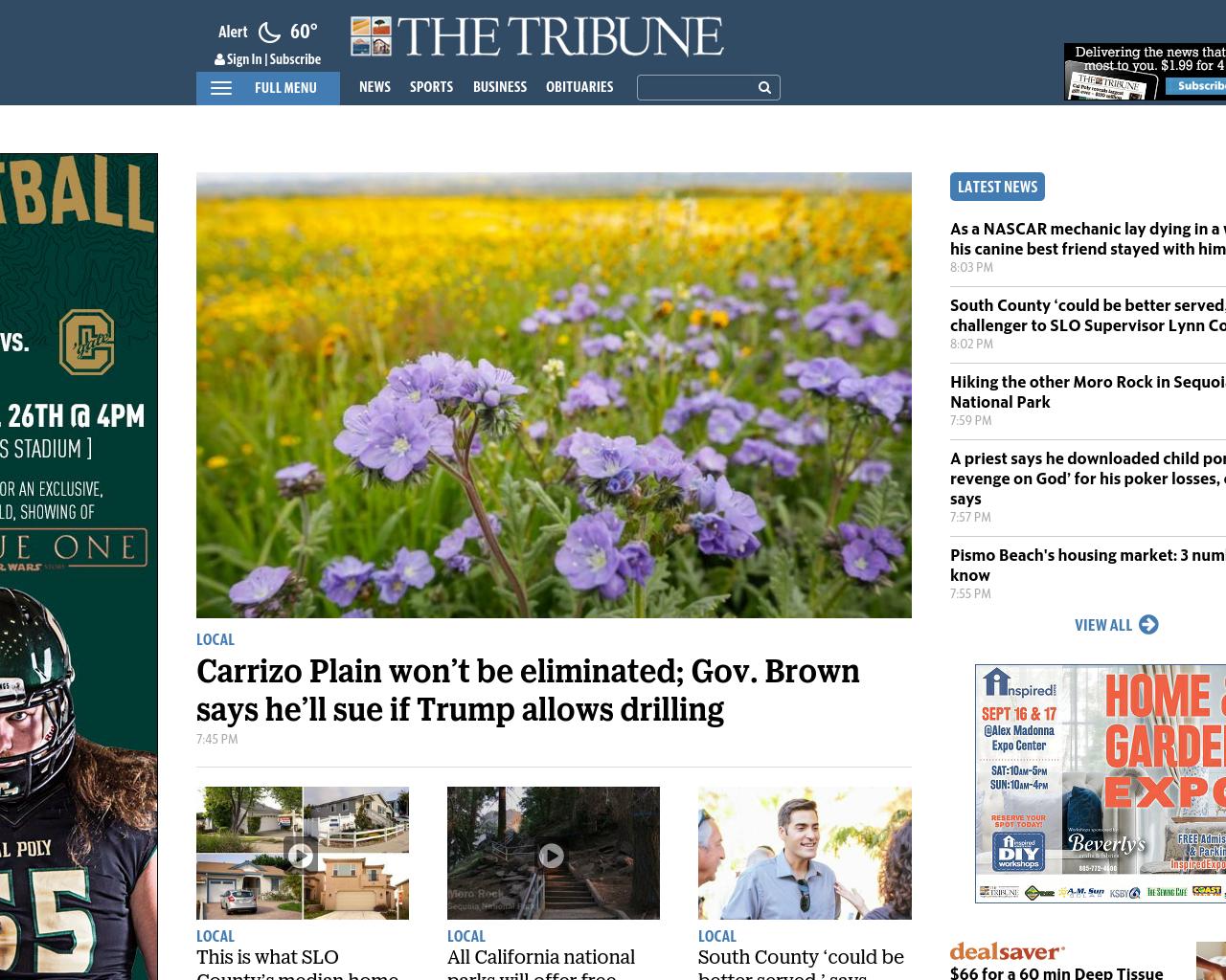 The-Tribune-/-SanLuisObispo.com-Advertising-Reviews-Pricing
