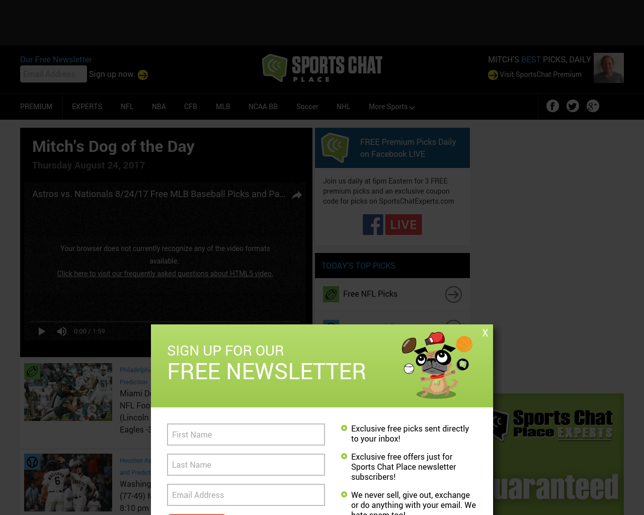 SportsChat-Place-Advertising-Reviews-Pricing