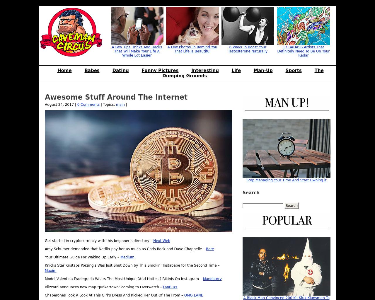 Caveman-Circus-Advertising-Reviews-Pricing