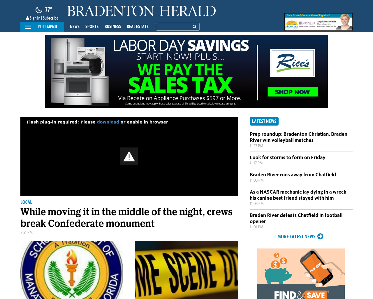 Bradenton-Herald-Advertising-Reviews-Pricing
