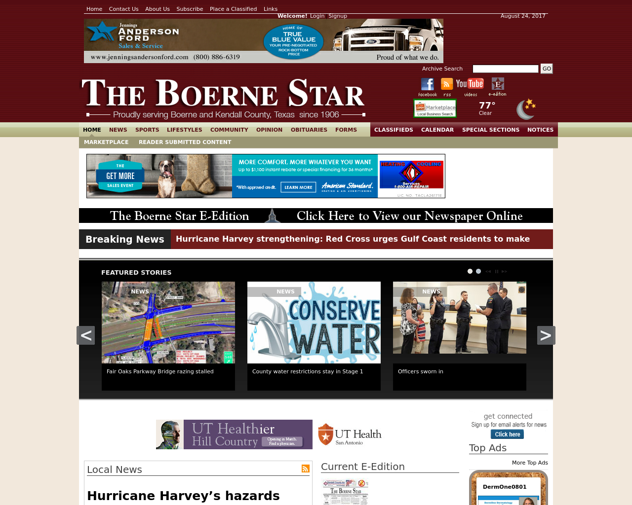 THE-BOERNE-STAR-Advertising-Reviews-Pricing