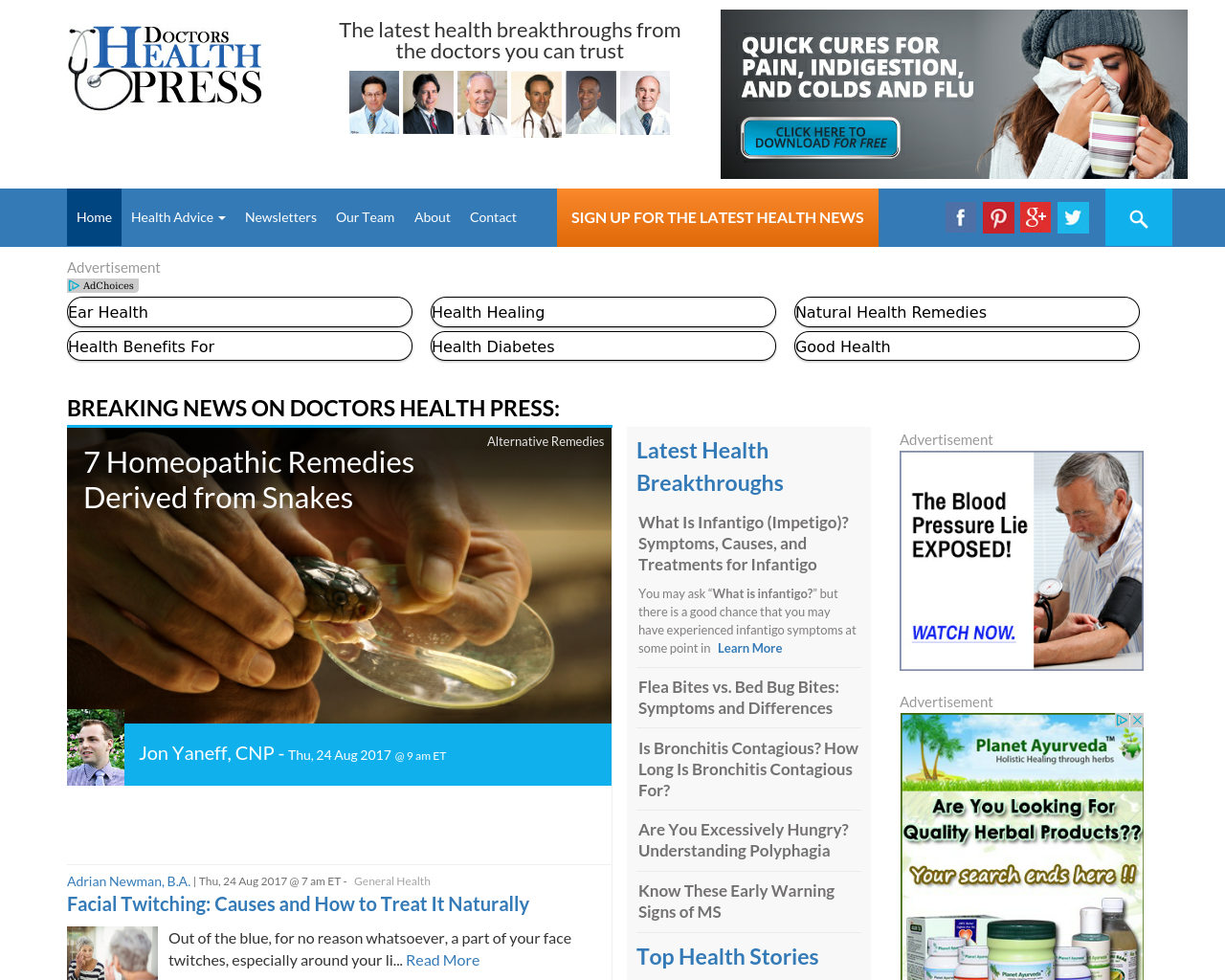 Doctors-Health-Press-Advertising-Reviews-Pricing