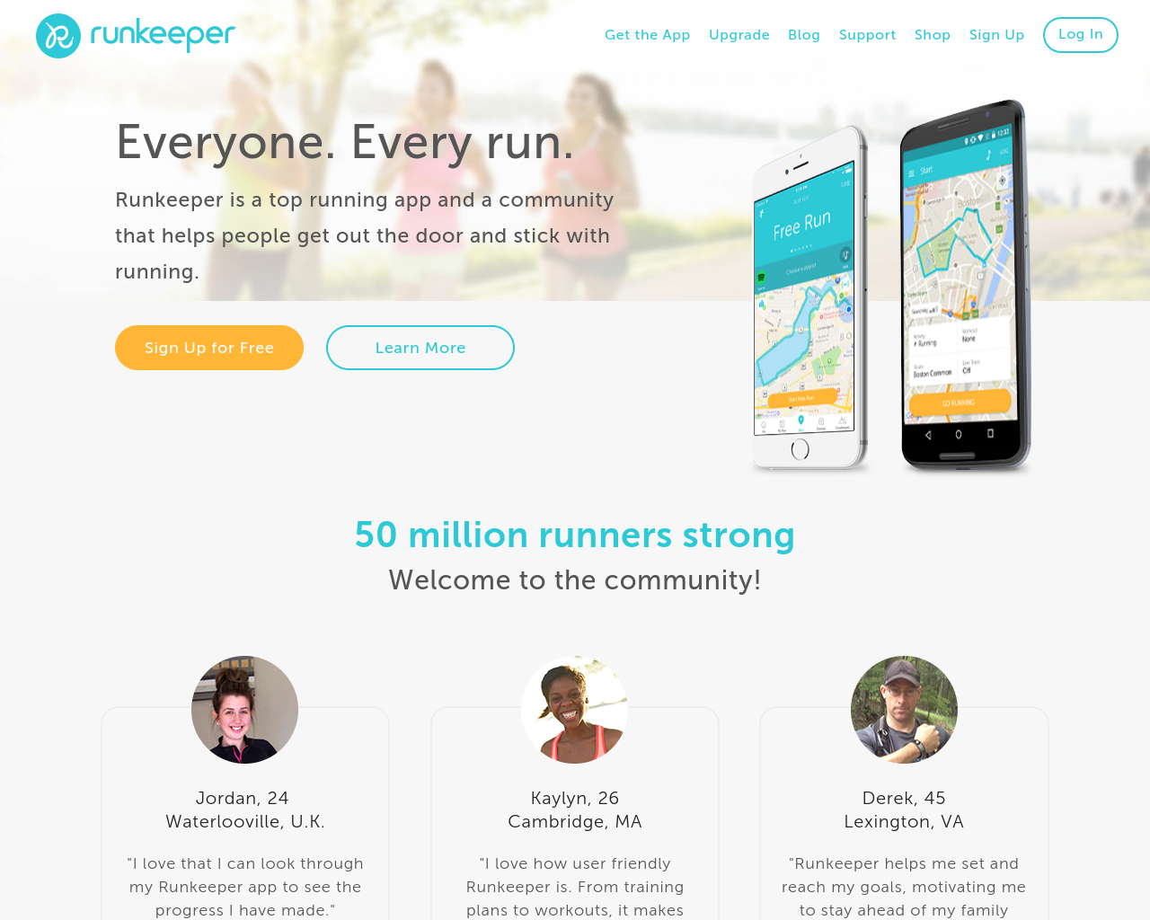 Runkeeper.com-Advertising-Reviews-Pricing