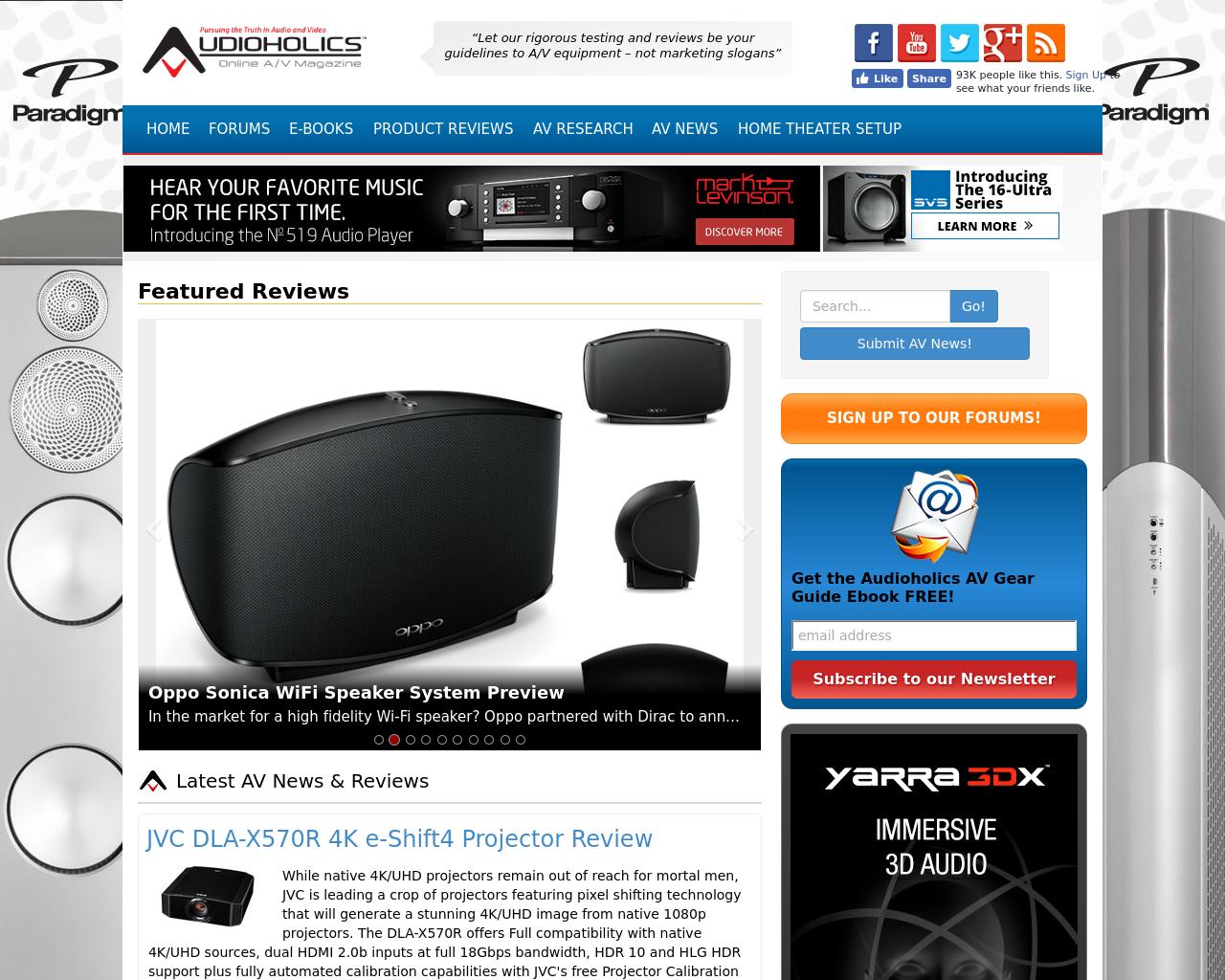 Audioholics-Advertising-Reviews-Pricing