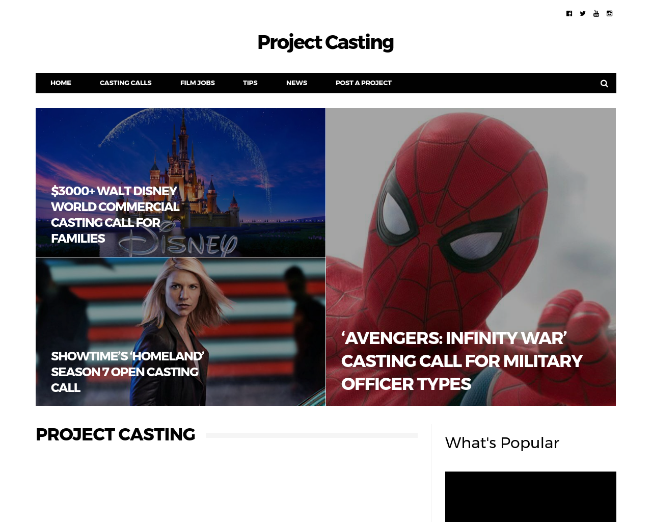 Project-Casting-Advertising-Reviews-Pricing