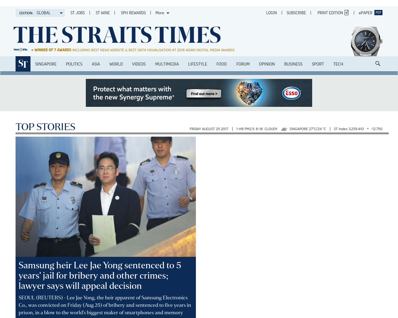 The-Straits-Times-Advertising-Reviews-Pricing