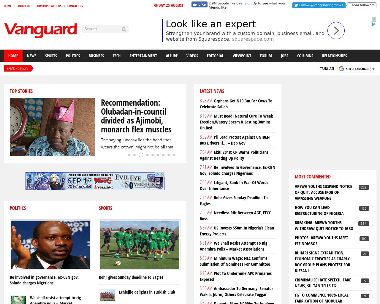 Vanguard-News-Advertising-Reviews-Pricing