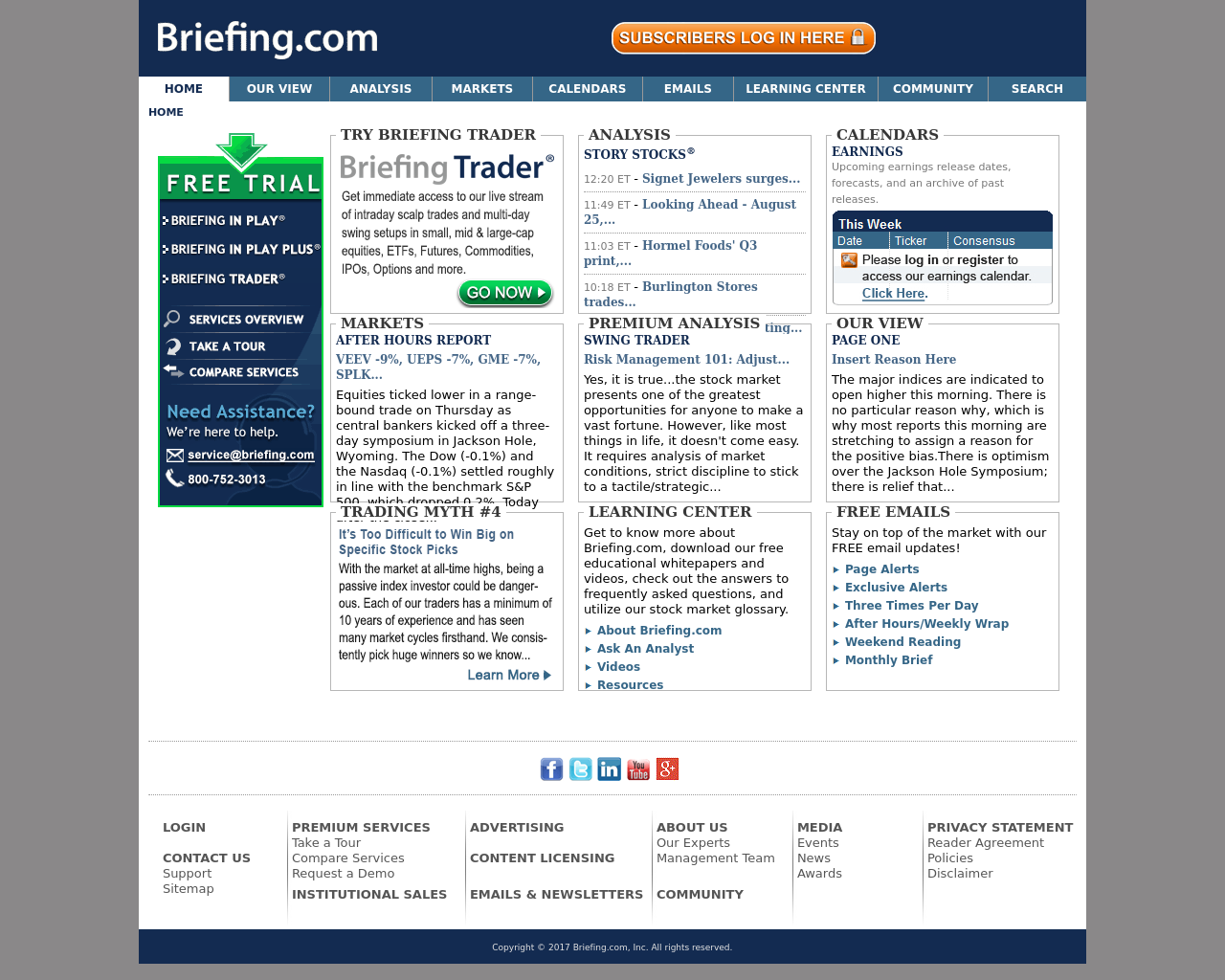 Briefing-(Live-Market-Analysis)-Advertising-Reviews-Pricing