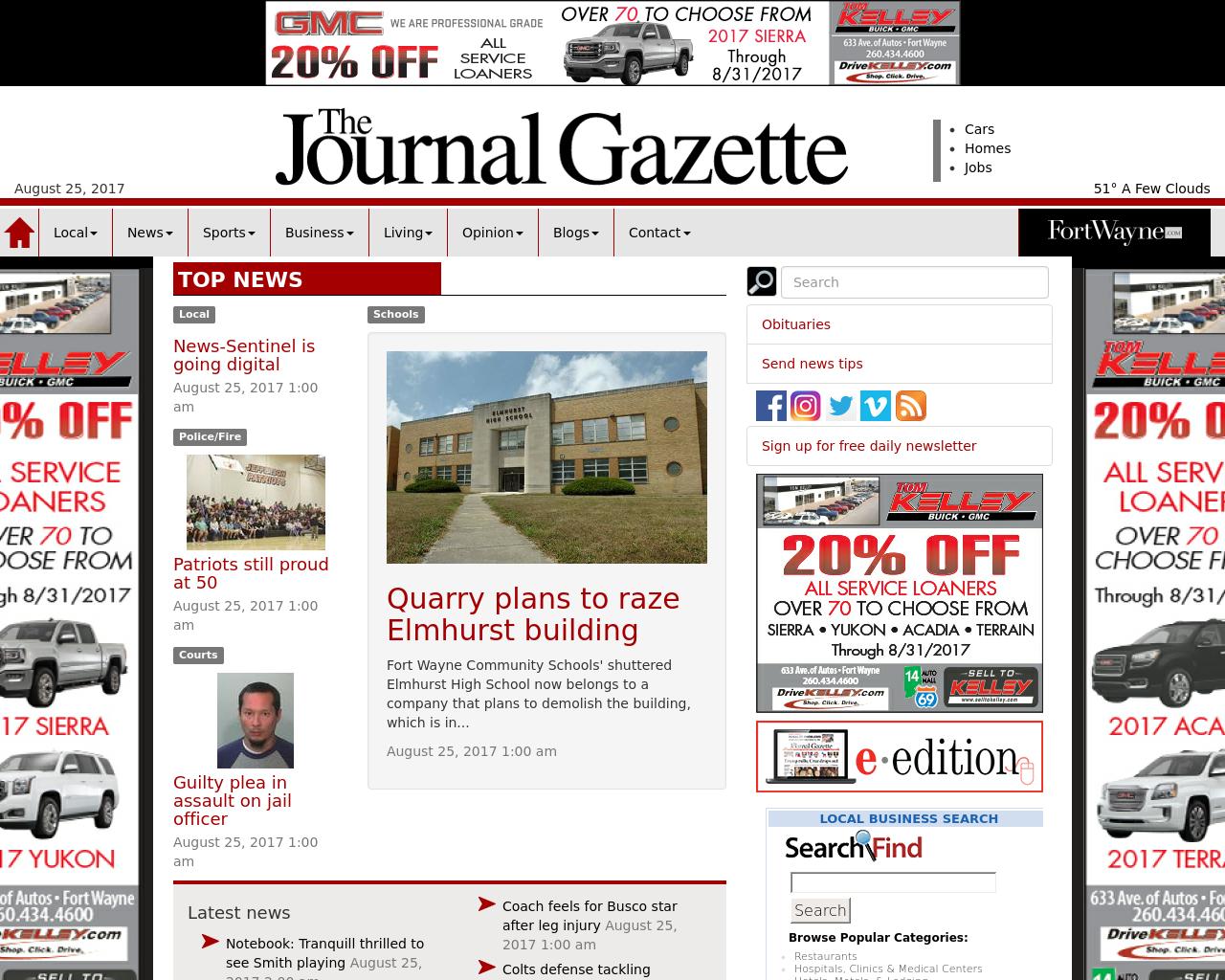 JournalGazette.net-Advertising-Reviews-Pricing