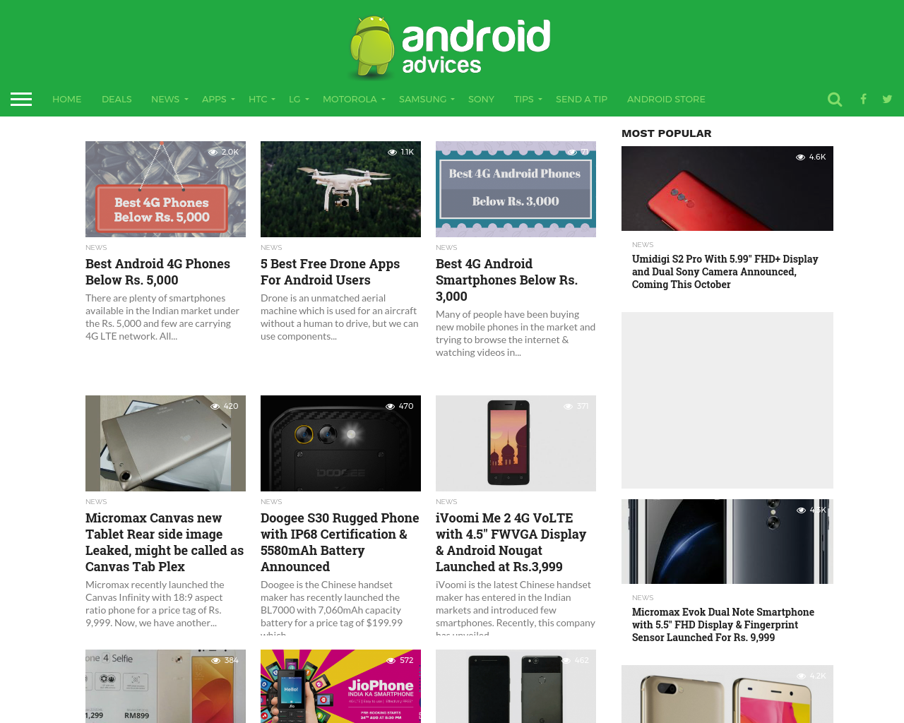 Android-Advices-Advertising-Reviews-Pricing