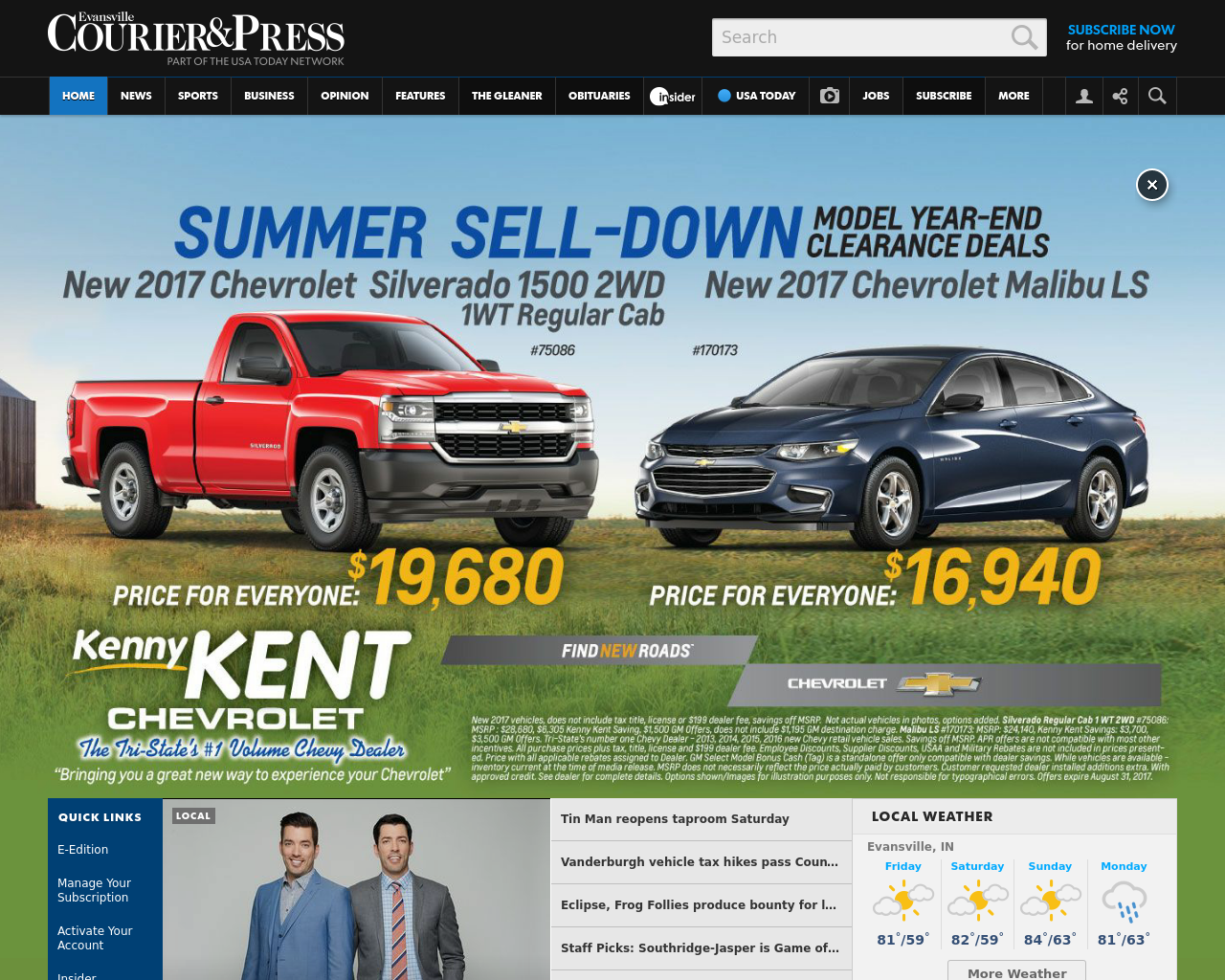 Evansville-Courier-and-Press-Advertising-Reviews-Pricing