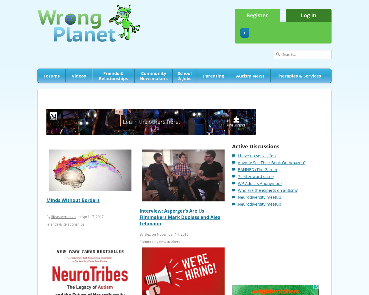 WrongPlanet-Advertising-Reviews-Pricing
