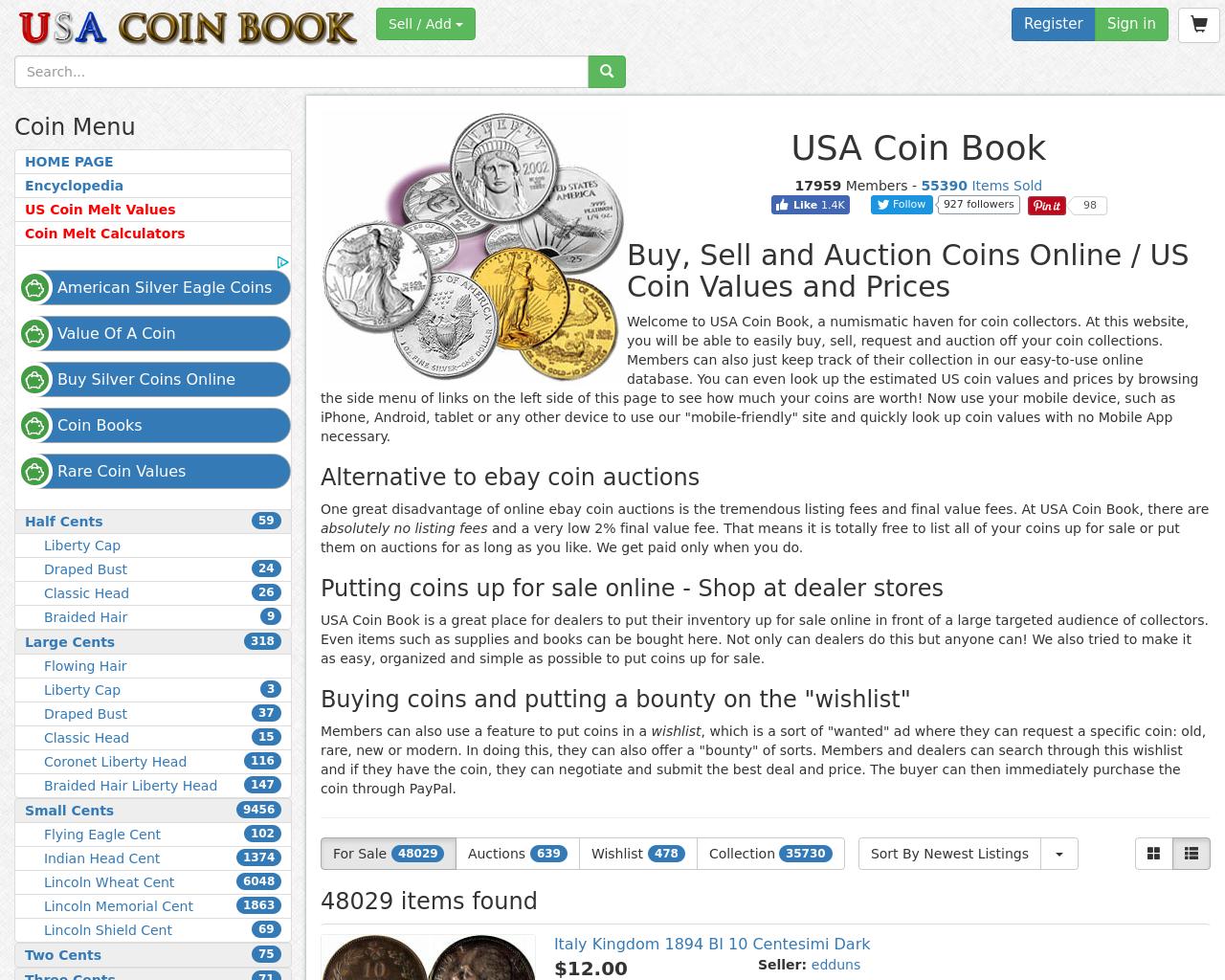 USA-COIN-BOOK-Advertising-Reviews-Pricing