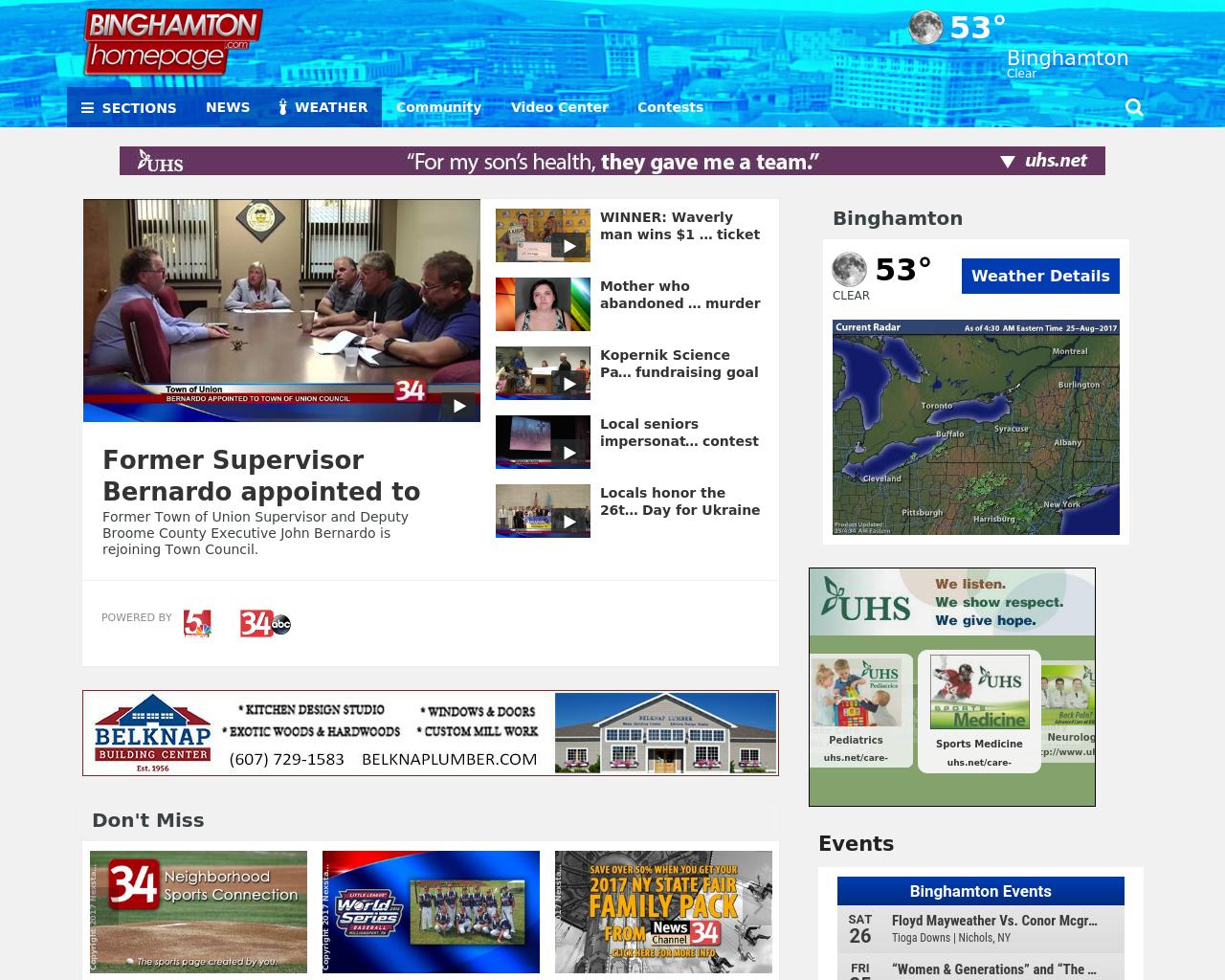 Binghamton-homepage.com-Advertising-Reviews-Pricing