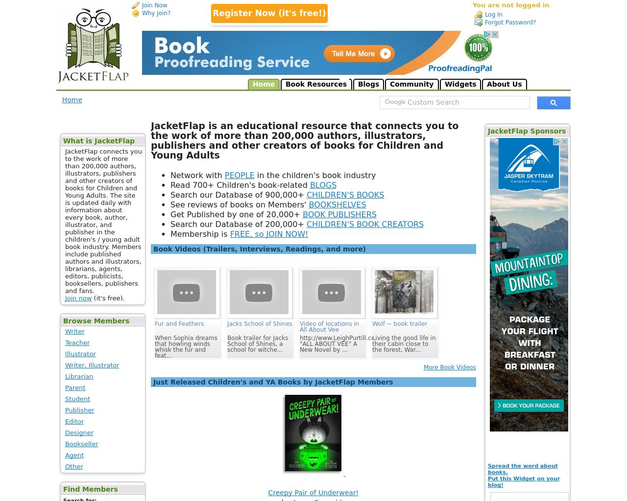JACKETFLAP-Advertising-Reviews-Pricing