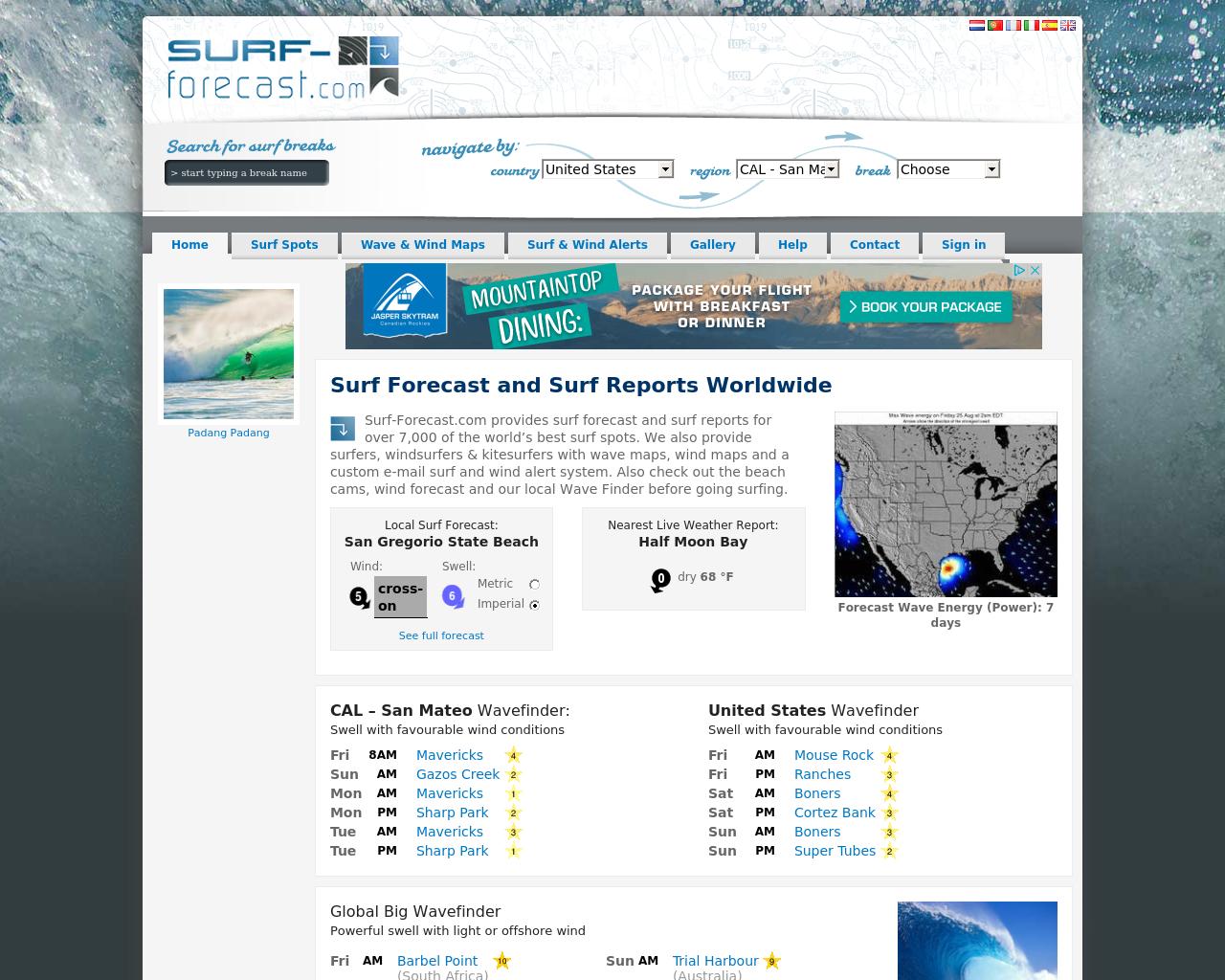 Surf-Forecast.com-Advertising-Reviews-Pricing