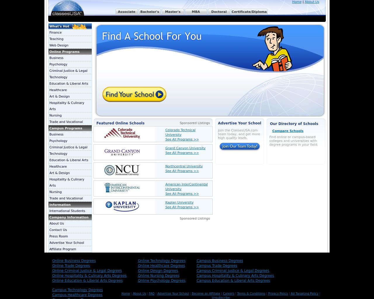 ClassesUSA.com-Advertising-Reviews-Pricing