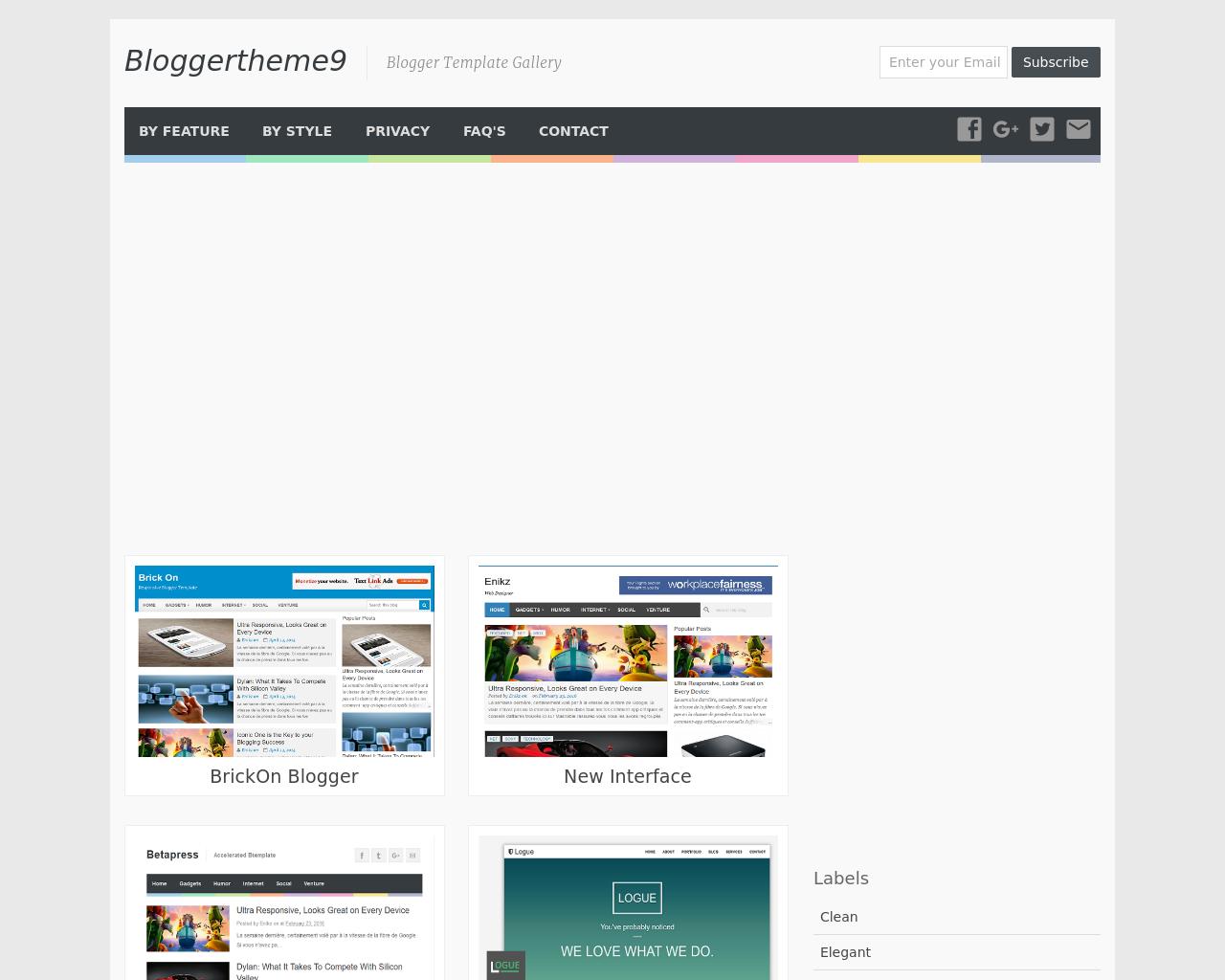 Bloggertheme9-Advertising-Reviews-Pricing