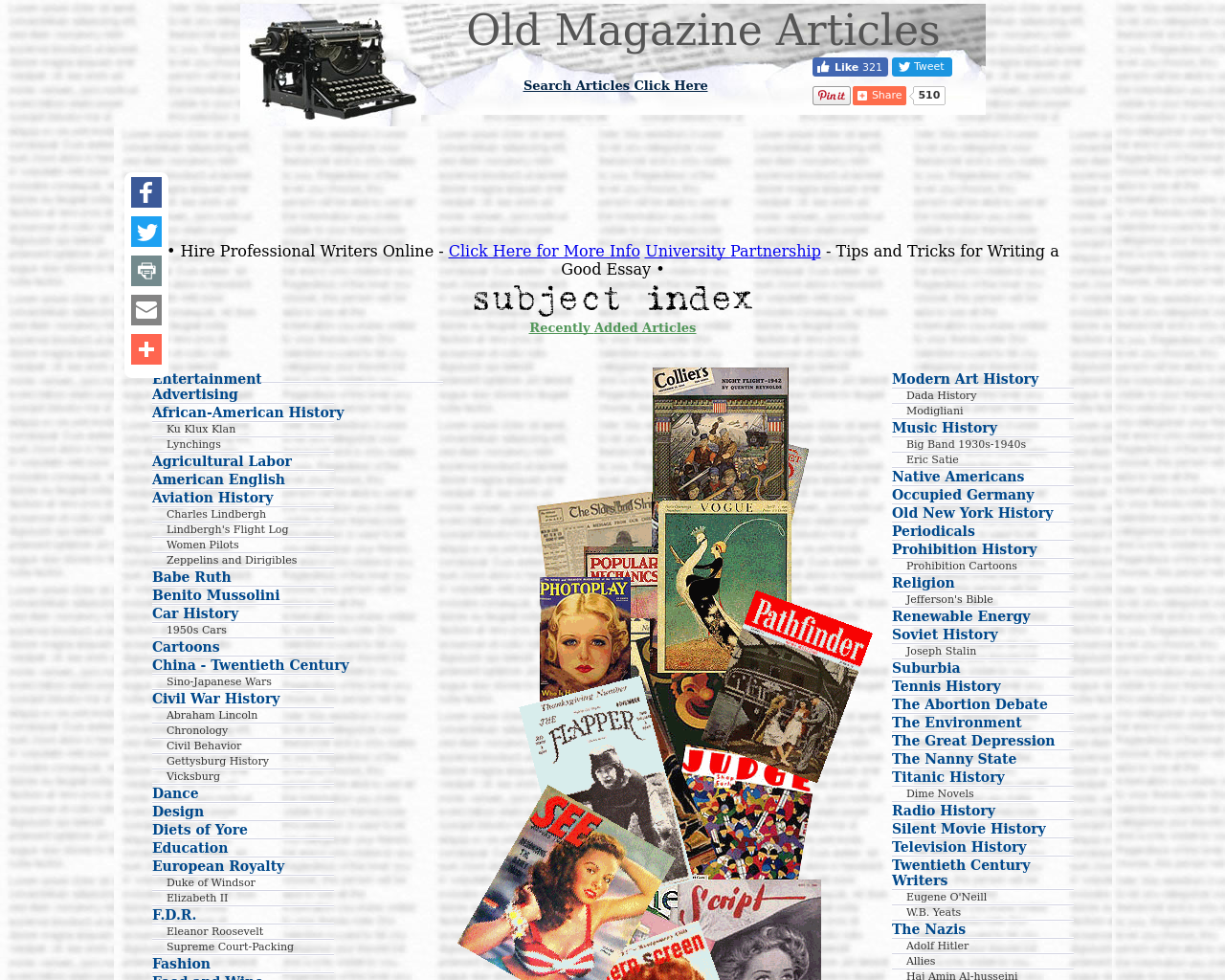 OldMagazineArticles.com-Advertising-Reviews-Pricing