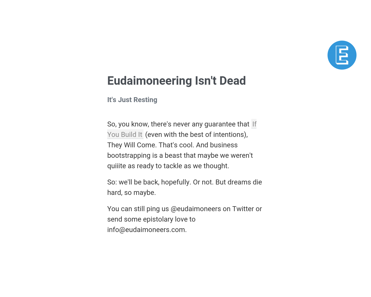 Eudaimoneers-Advertising-Reviews-Pricing