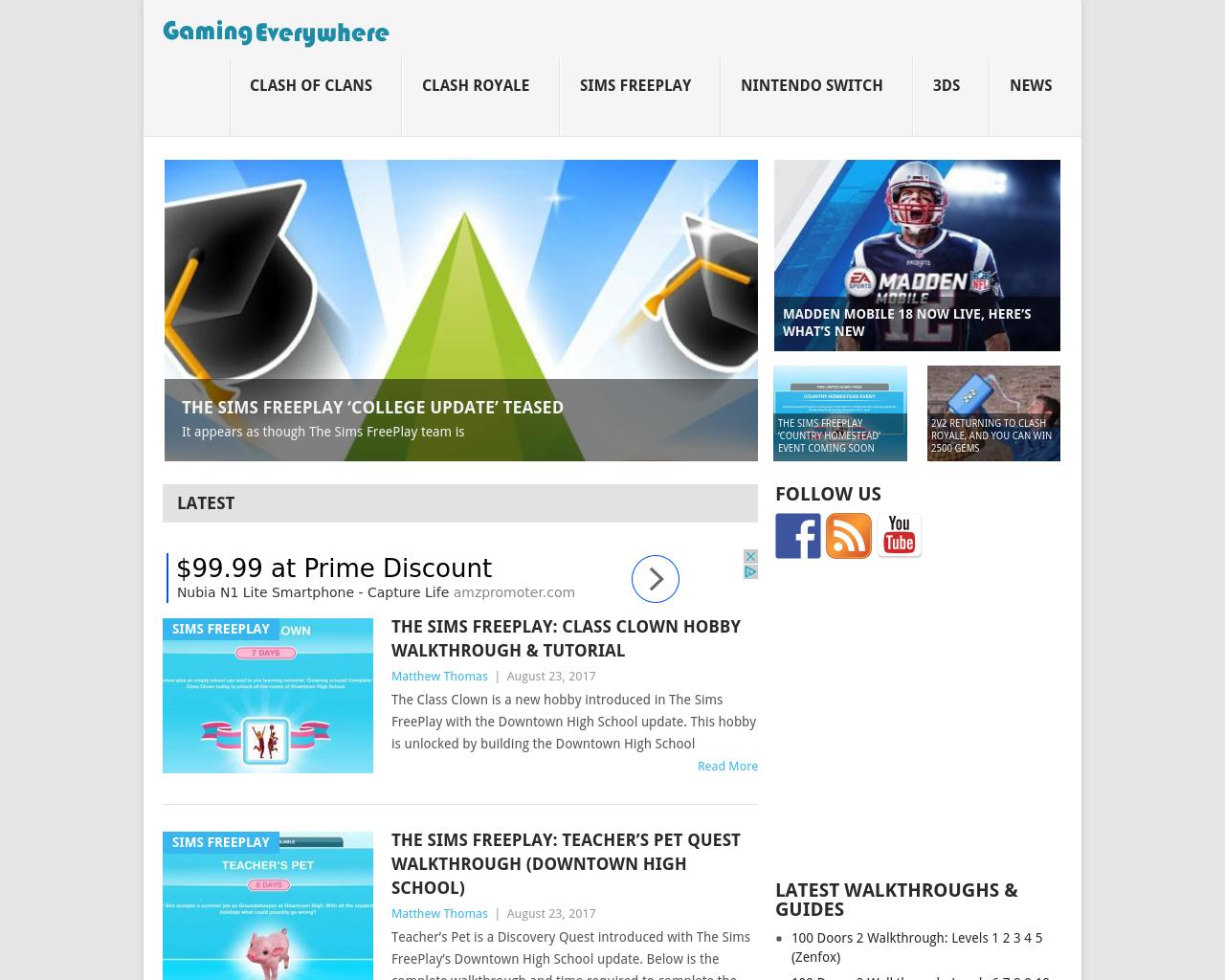 GamingEverywhere-Advertising-Reviews-Pricing