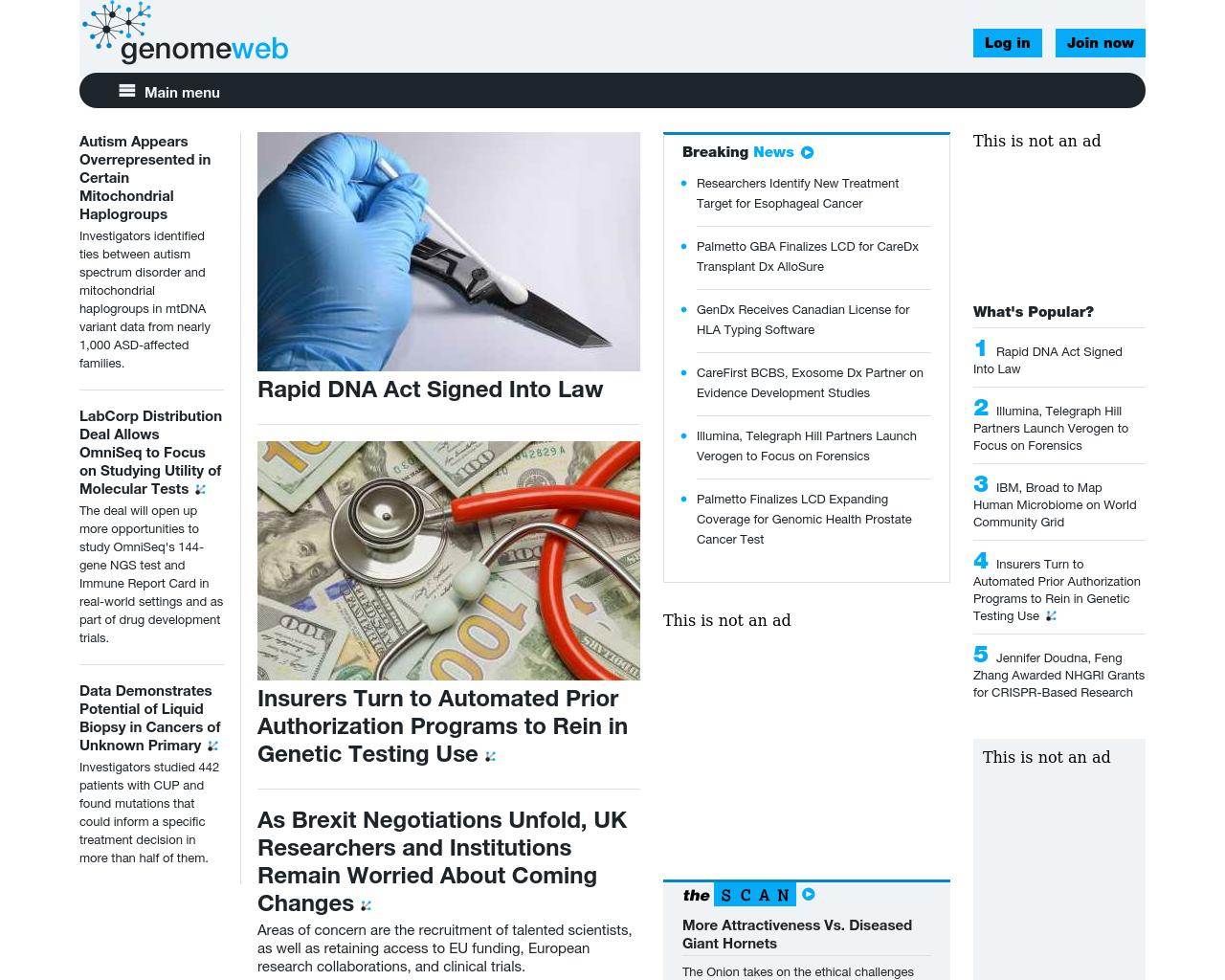 GenomeWeb-Advertising-Reviews-Pricing