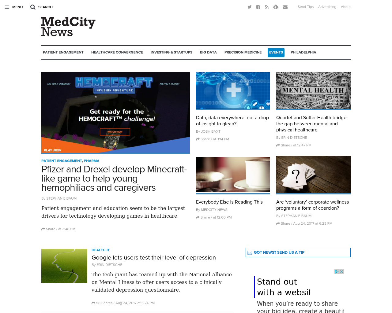 MedCity-News-Advertising-Reviews-Pricing