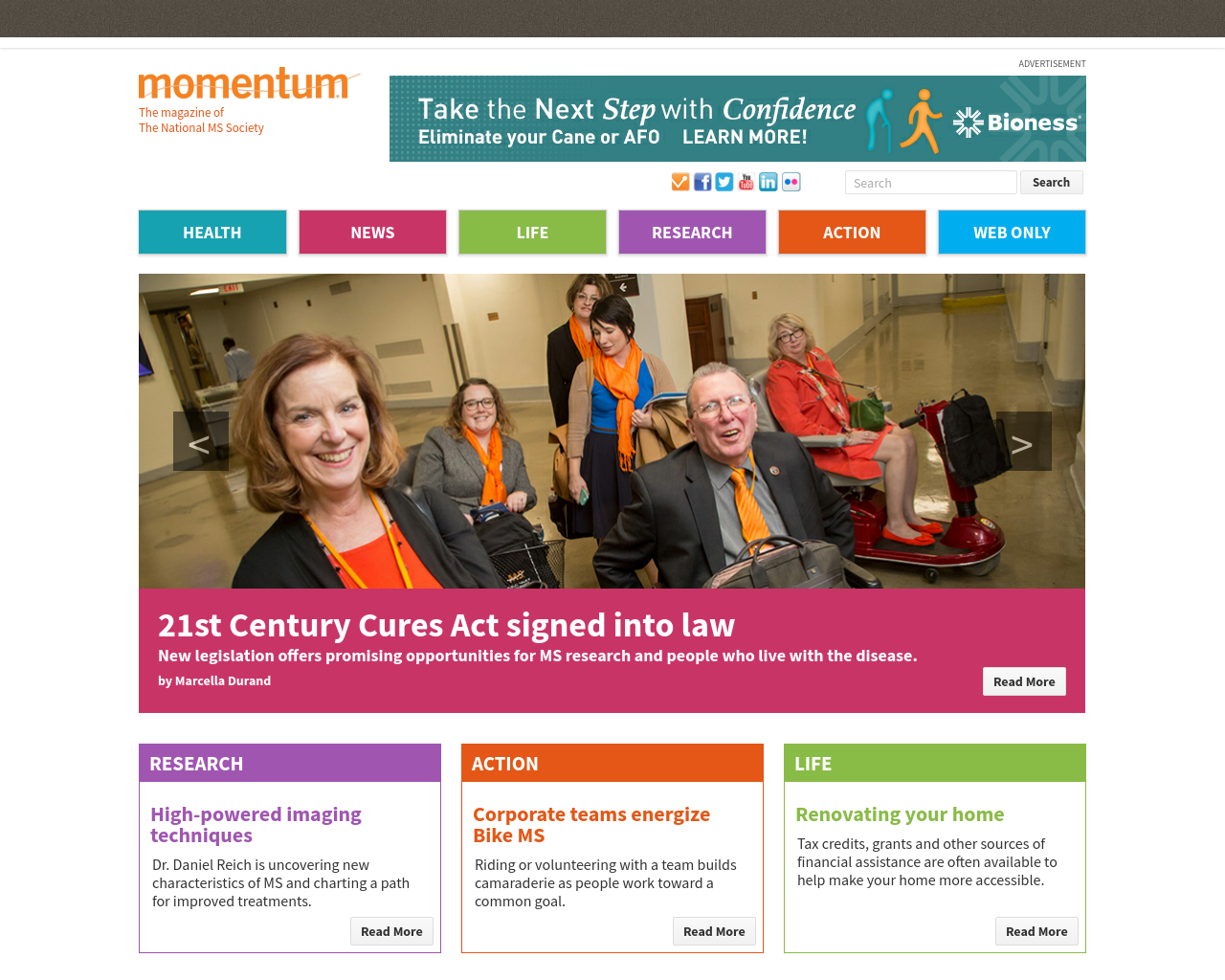Momentum-The-Magazine-of-the-National-MS-Society-Advertising-Reviews-Pricing