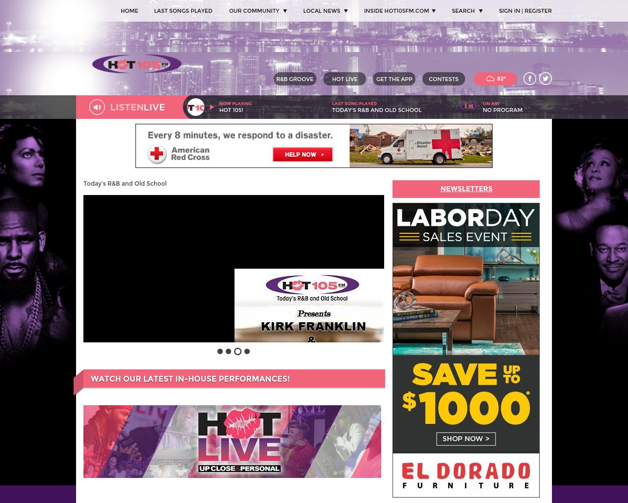HOT105FM.com-Advertising-Reviews-Pricing