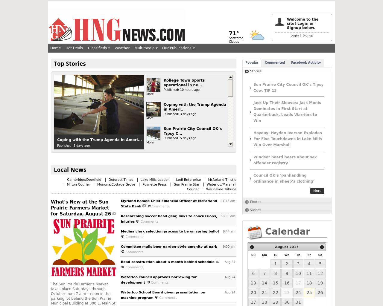 HNG-News-Advertising-Reviews-Pricing