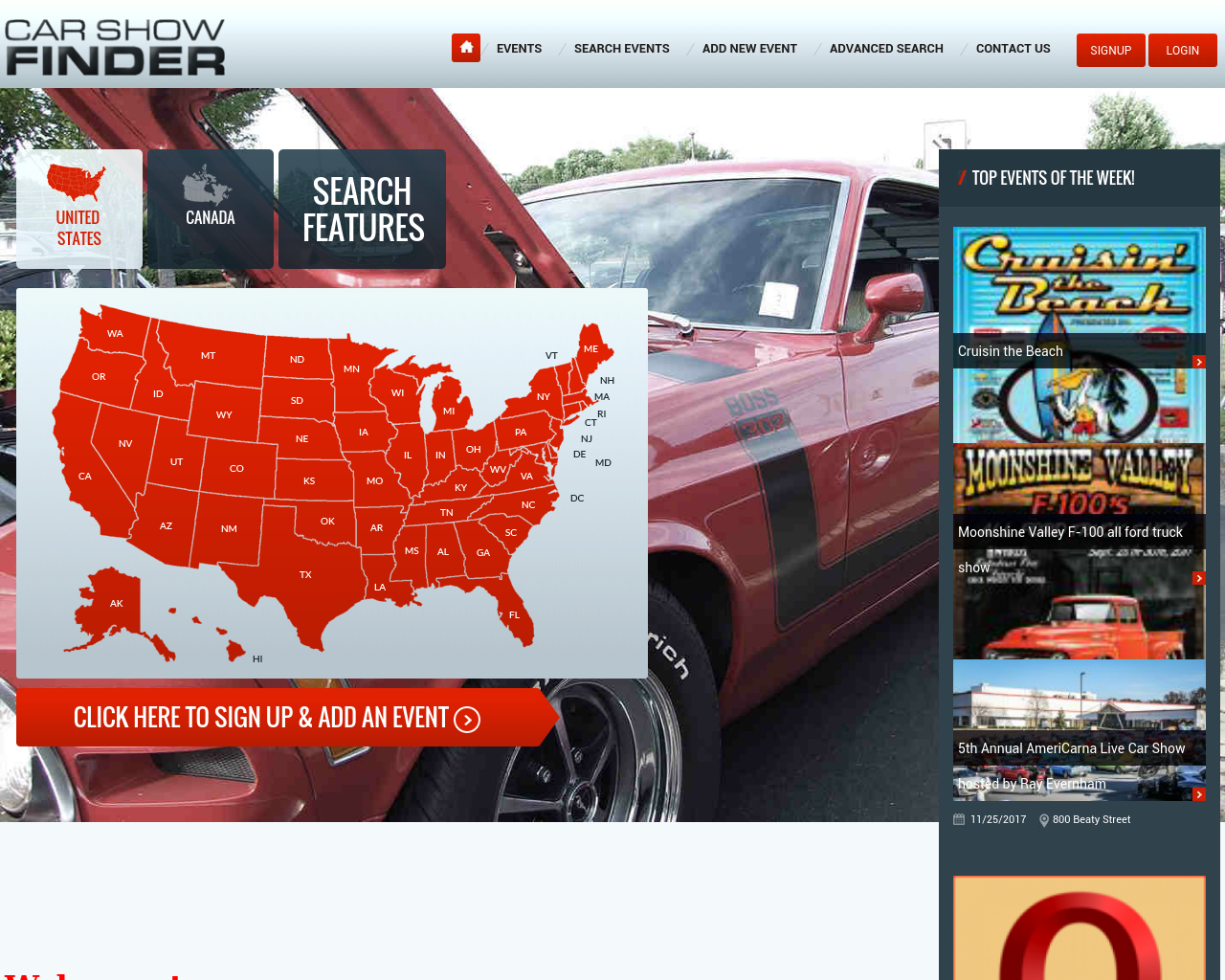 Car Show Finder Advertising Mediakits Reviews Pricing Traffic - Car show finder