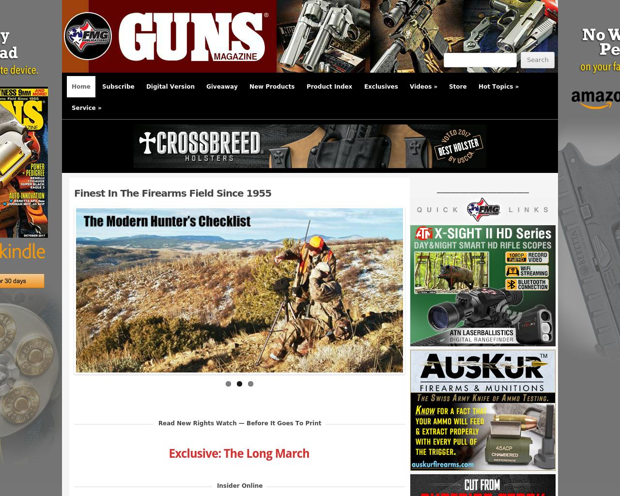 Guns-Magazine-Advertising-Reviews-Pricing