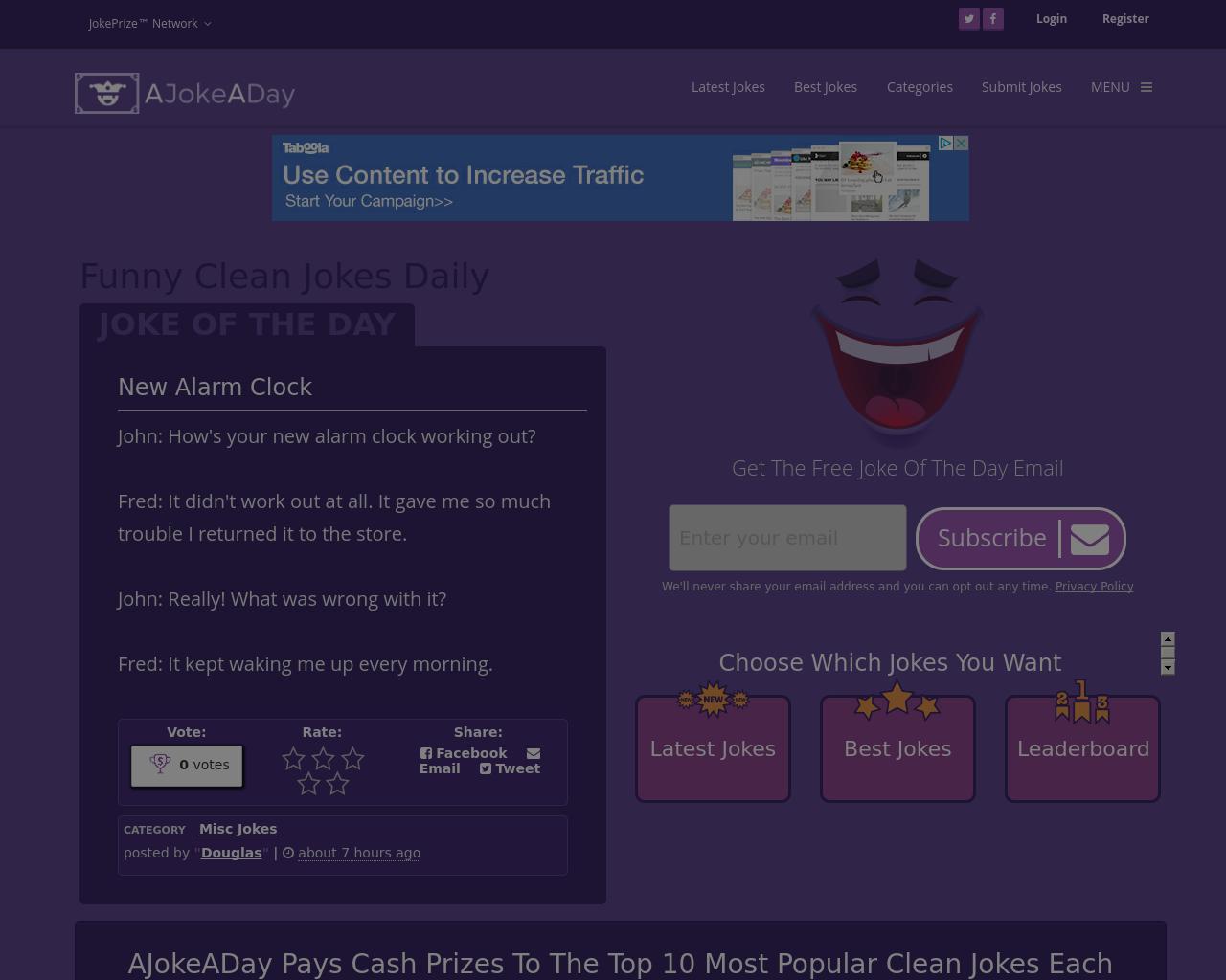 AJokeADay.com-Advertising-Reviews-Pricing