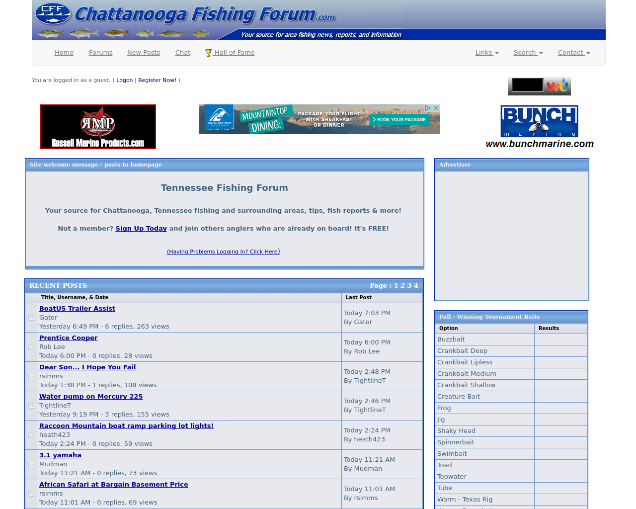 Chattanooga-Fishing-Forum-Advertising-Reviews-Pricing