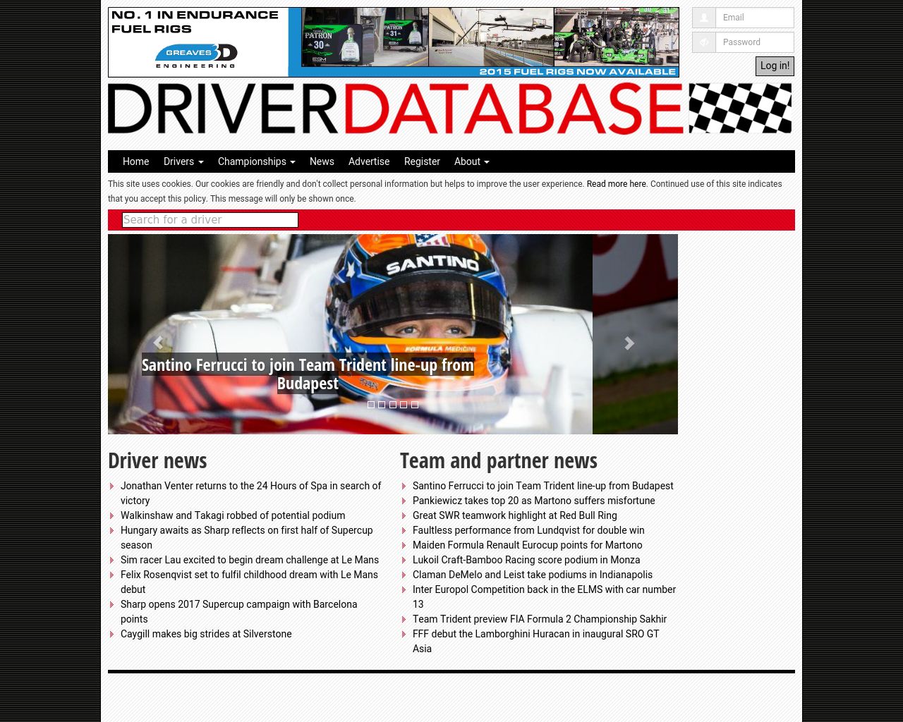 DRIVERDATABASE-Advertising-Reviews-Pricing