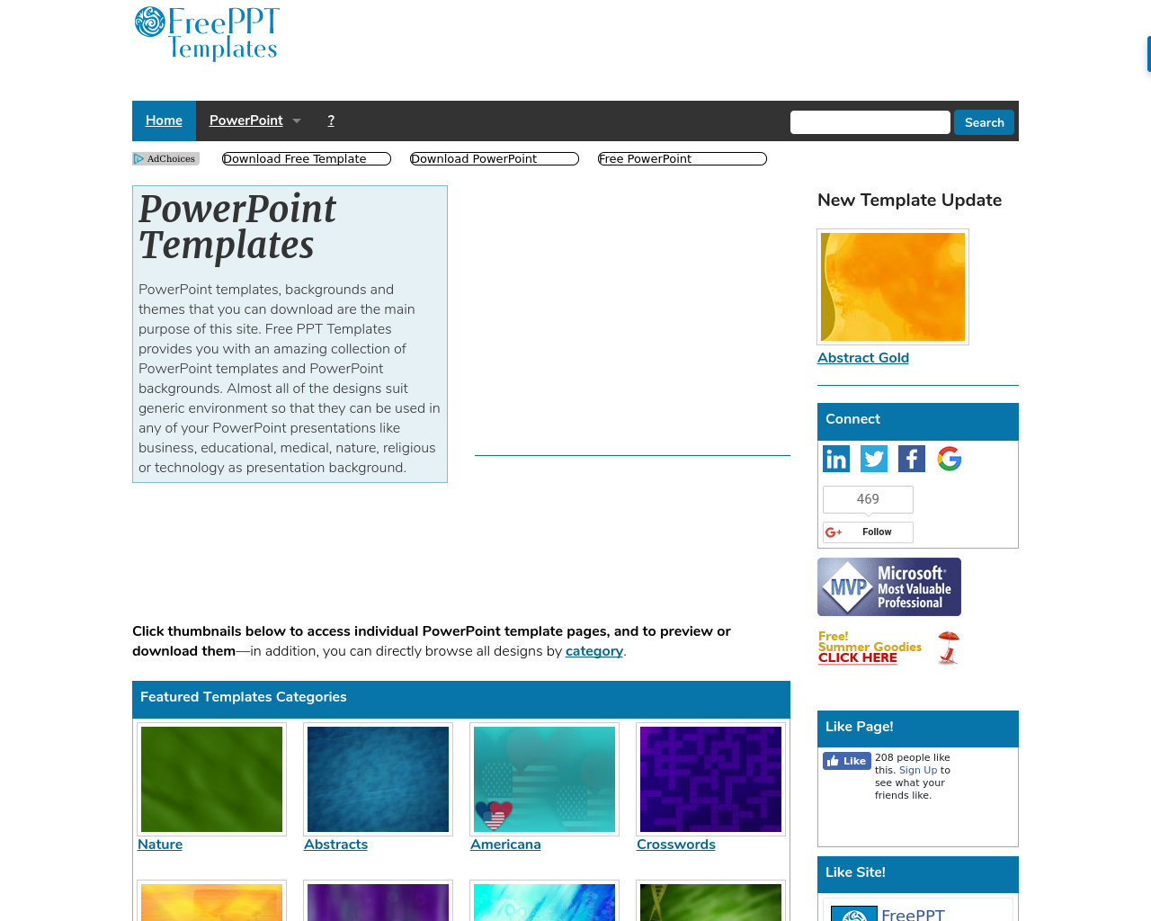 Free Ppt Templates Advertising Mediakits, Reviews, Pricing, Traffic ...