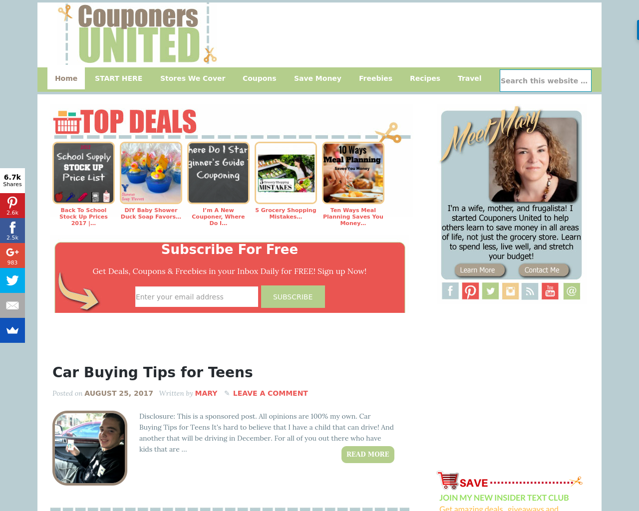 Couponers-United!-Advertising-Reviews-Pricing