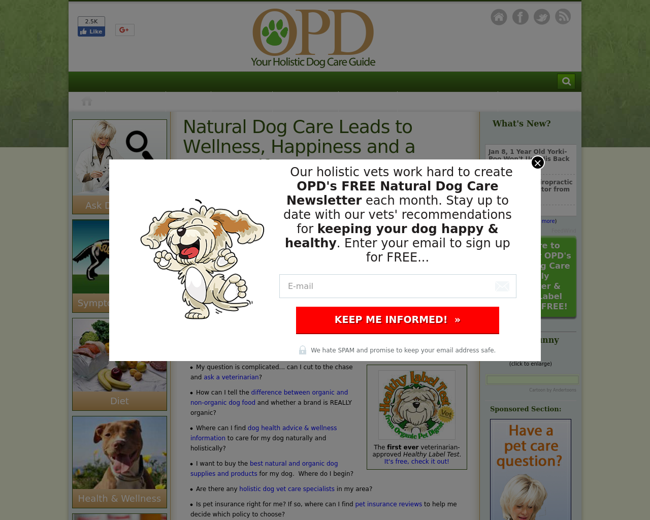 OPD--Your-Holistic-Dog-Care-Guide-Advertising-Reviews-Pricing
