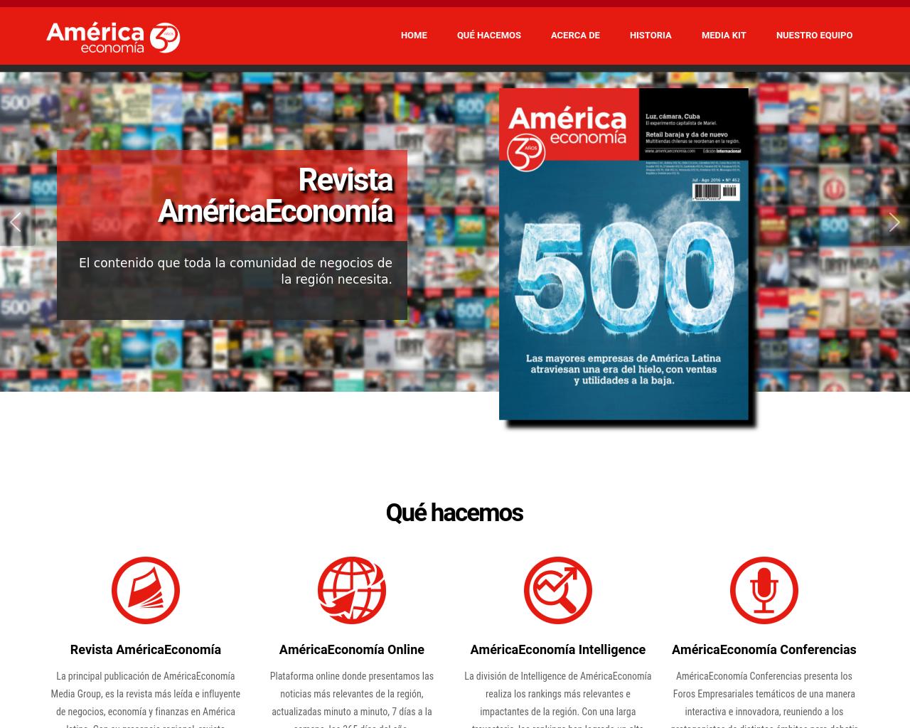 AméricaEconomía-Advertising-&-Marketing-Advertising-Reviews-Pricing