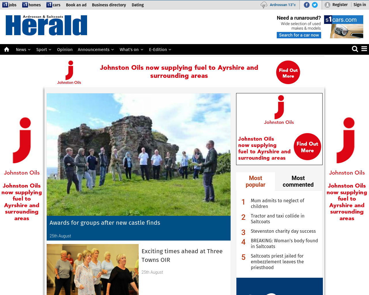 Ardrossan-&-Saltcoats-Herald-Advertising-Reviews-Pricing