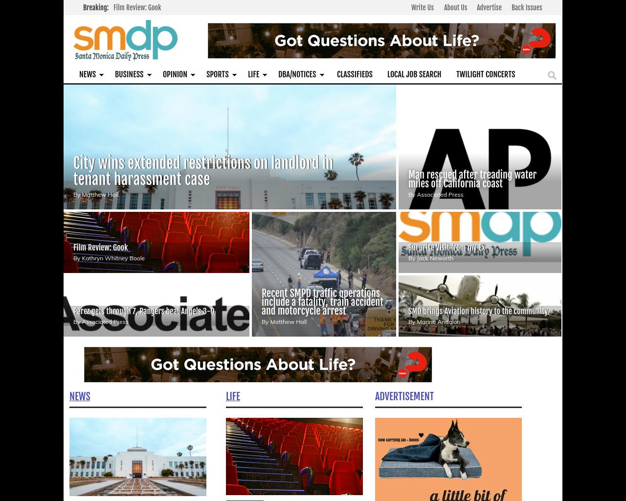 Santa-Monica-Daily-Press-Advertising-Reviews-Pricing