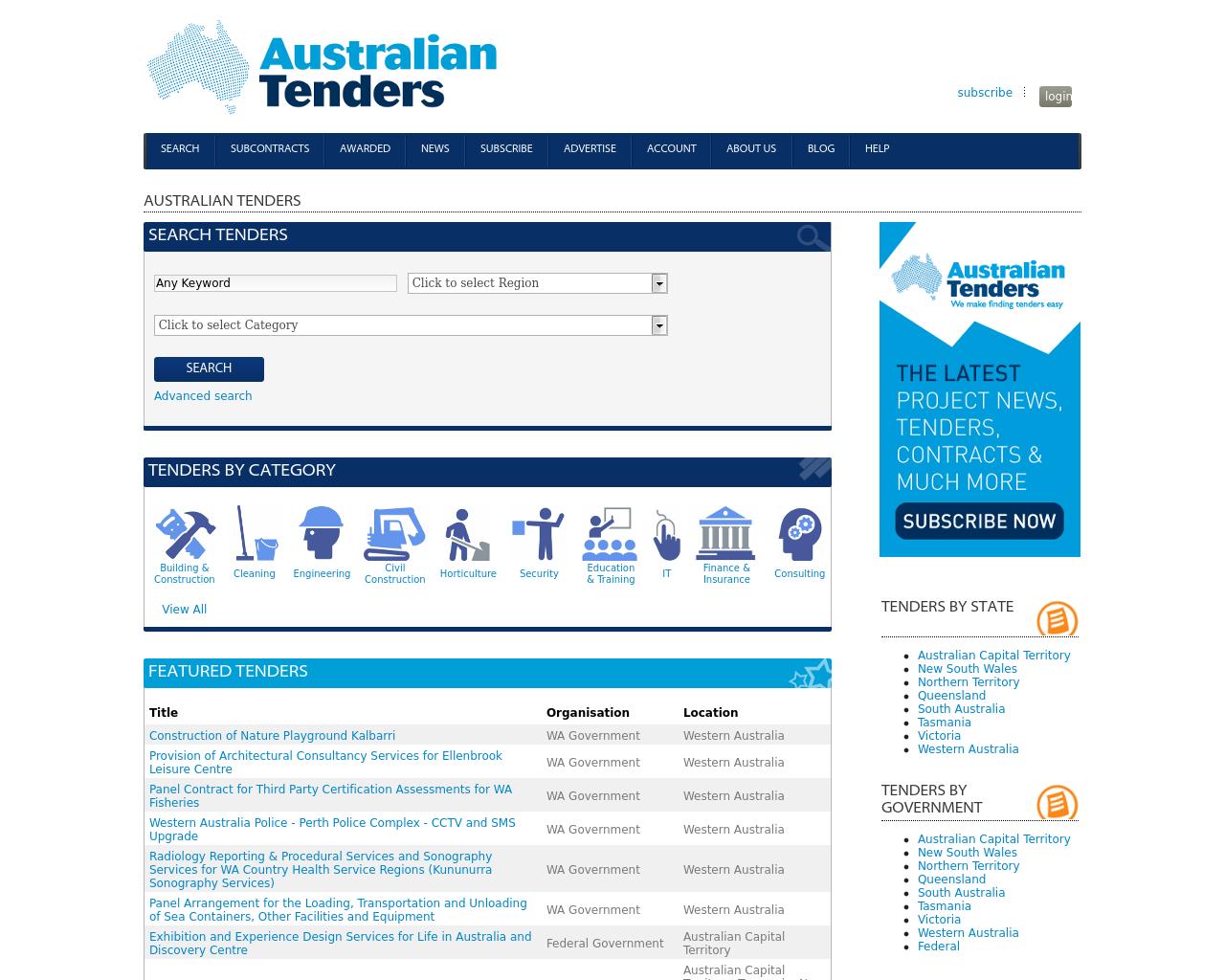AustralianTenders.com-Advertising-Reviews-Pricing