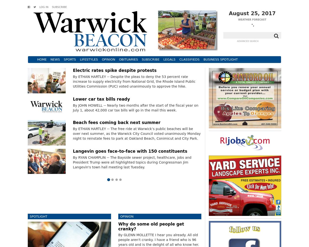 Warwick-Beacon-Advertising-Reviews-Pricing